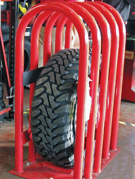 tire explosion  life threatening injuries