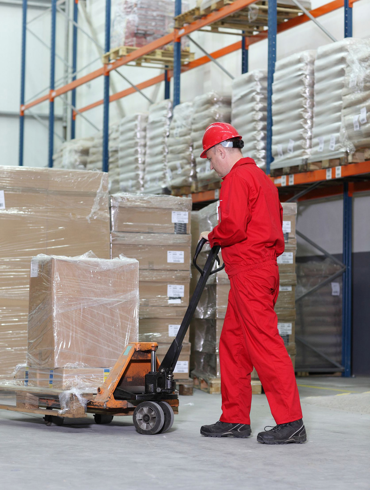 Young Worker Injured When Manual Pallet Jack Accelerates ...