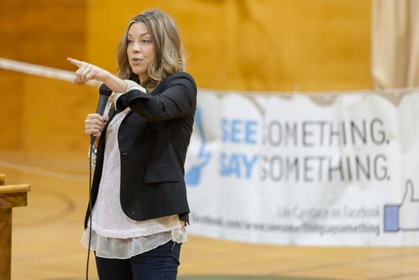Students hear inspirational workplace safety message