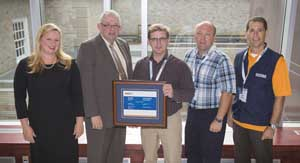 WorkSafeNB honours Graymont (NB) Inc. for its outstanding achievements in workplace health and safety